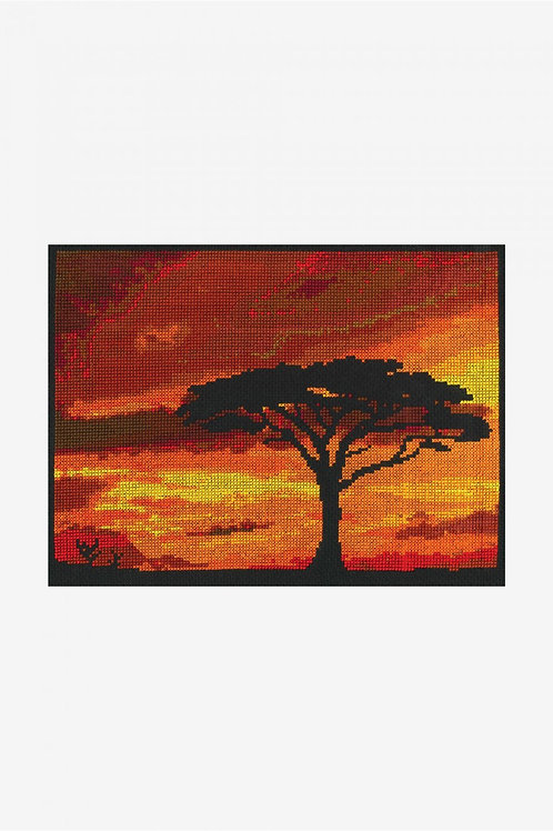 DMC Cross-Stitch Kit Savannah Sunset  BK1721