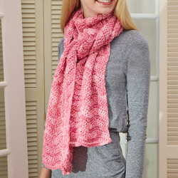 Red Heart Super Saver Scarf
