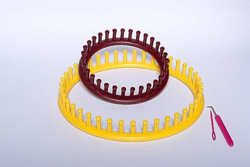 Round Knitting Loom Set 2 PCS/SET (N04-906BD)
