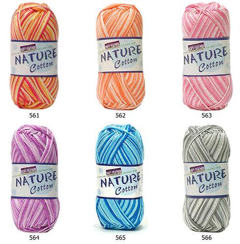 Soft Feather Nature Cotton Multi Colors S205C