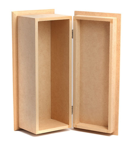 WOODEN WINE BOX:340*130*140MM-600
