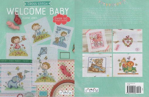 Cross Stitch: Welcome Baby 6370-1