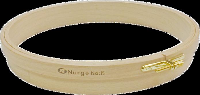 Nurge Wooden Punch Embroidery Hoop