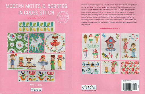 Modern Motifs & Borders in Cross Stitch 6360-1
