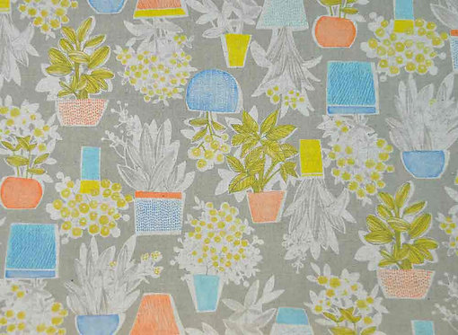 Printed Cotton Patchwork Fabric - 850254