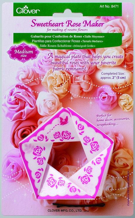 Clover Sweet Heart Rose Maker - 8471