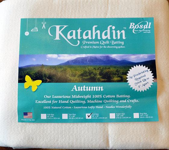 Bosal Katahdin Quilt Batting - Full Size (397K)