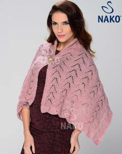 Nako Moher Simli Special Shawl