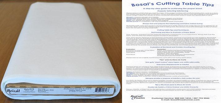 Bosal Polyester Rayon Fabric (318)