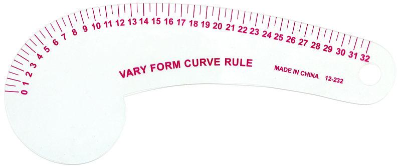 Vary form curve ruler 12-232