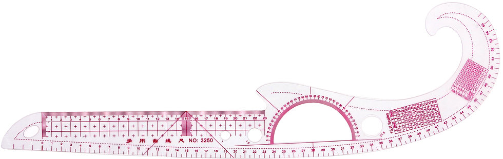 Multi-function and Curved-flexible rulers