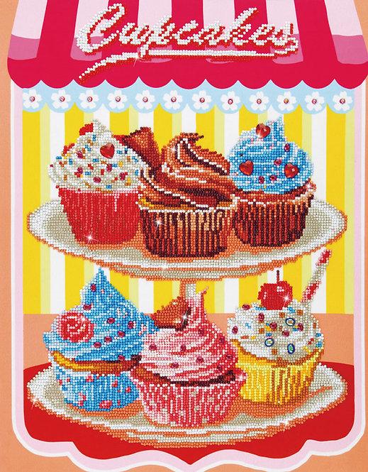 Diamond Dotz Art Kit Box - Cupcakes (DD9.006)