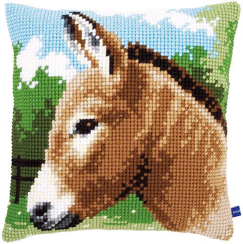 VERVACO Cross Stitch Cushion Kit Donkey - PN-0155267