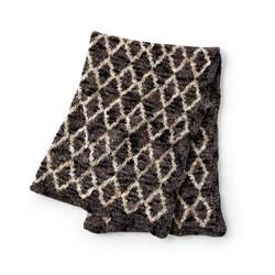 Bernat Crushed Velvet Blanket
