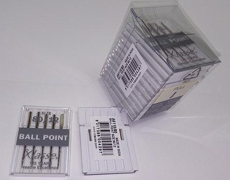 Klasse Ballpoint Needles Size 80/12 (A6110.80)