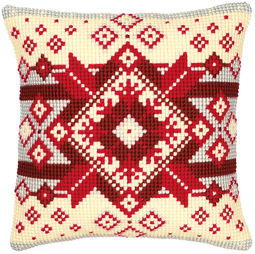 VERVACO Cross Stitch Cushion Kit Nordic Star - PN-0008495