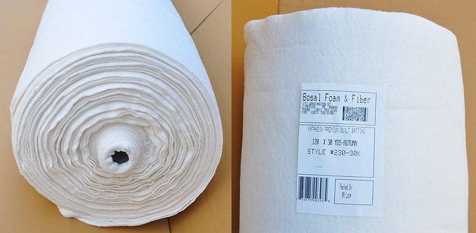 Bosal Katahdin Quilt Batting Fabric 230K