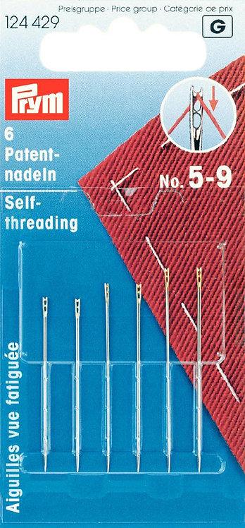 PRYM Self Threading Needles No. 5-9- 124429