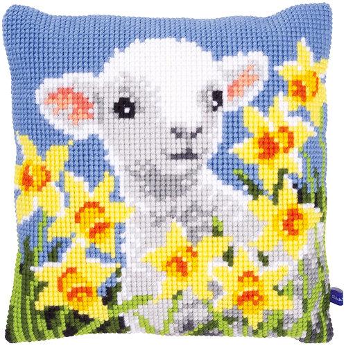 VERVACO Cross Stitch Cushion Kit Lamb - PN-0148423