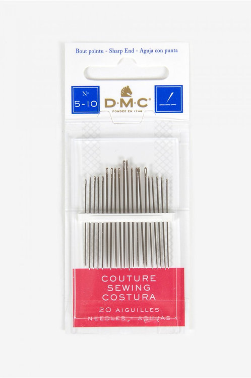 DMC Sewing Needles Size 5-10 1770/3