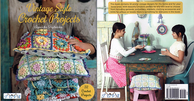 Vintage Style Crochet Projects 6040-1