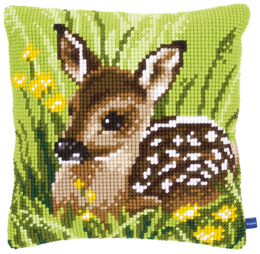 VERVACO Cross Stitch Cushion Kit Little Deer - PN-0150673