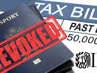 How Overdue Taxes Can Jeopardize Passports