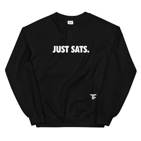 Just Sats Sweatshirt