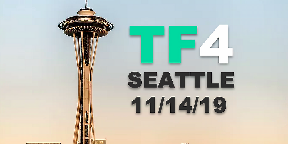 TF4: TF Blockchain Conference   Seattle 11/14/2019