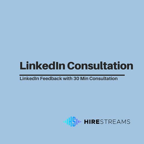 LinkedIn Consultation