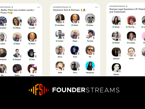 FounderStreams - Founder & Startup Community