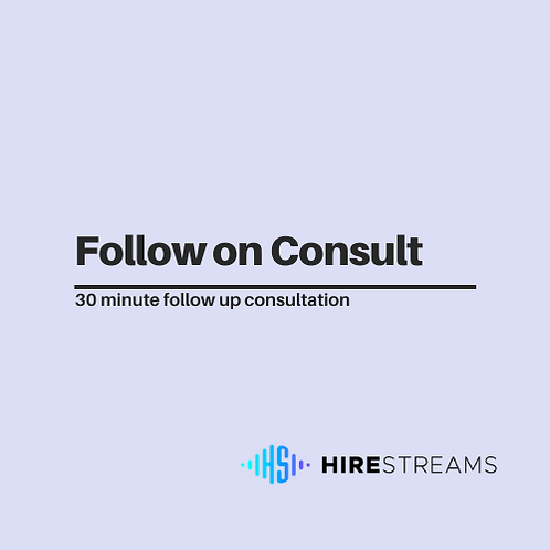 Follow On Consult
