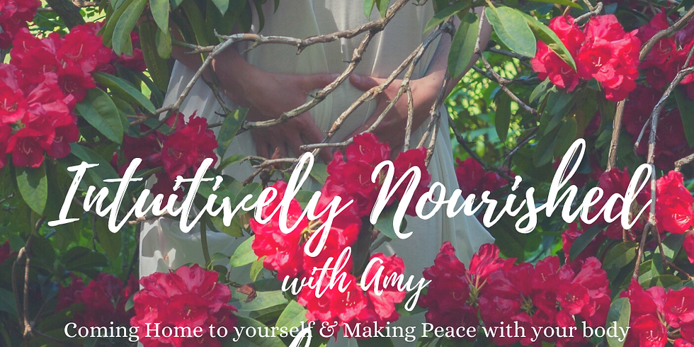 Intuitively Nourished 6 week Online Course