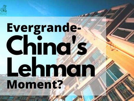 Evergrande - China's Lehman Moment?