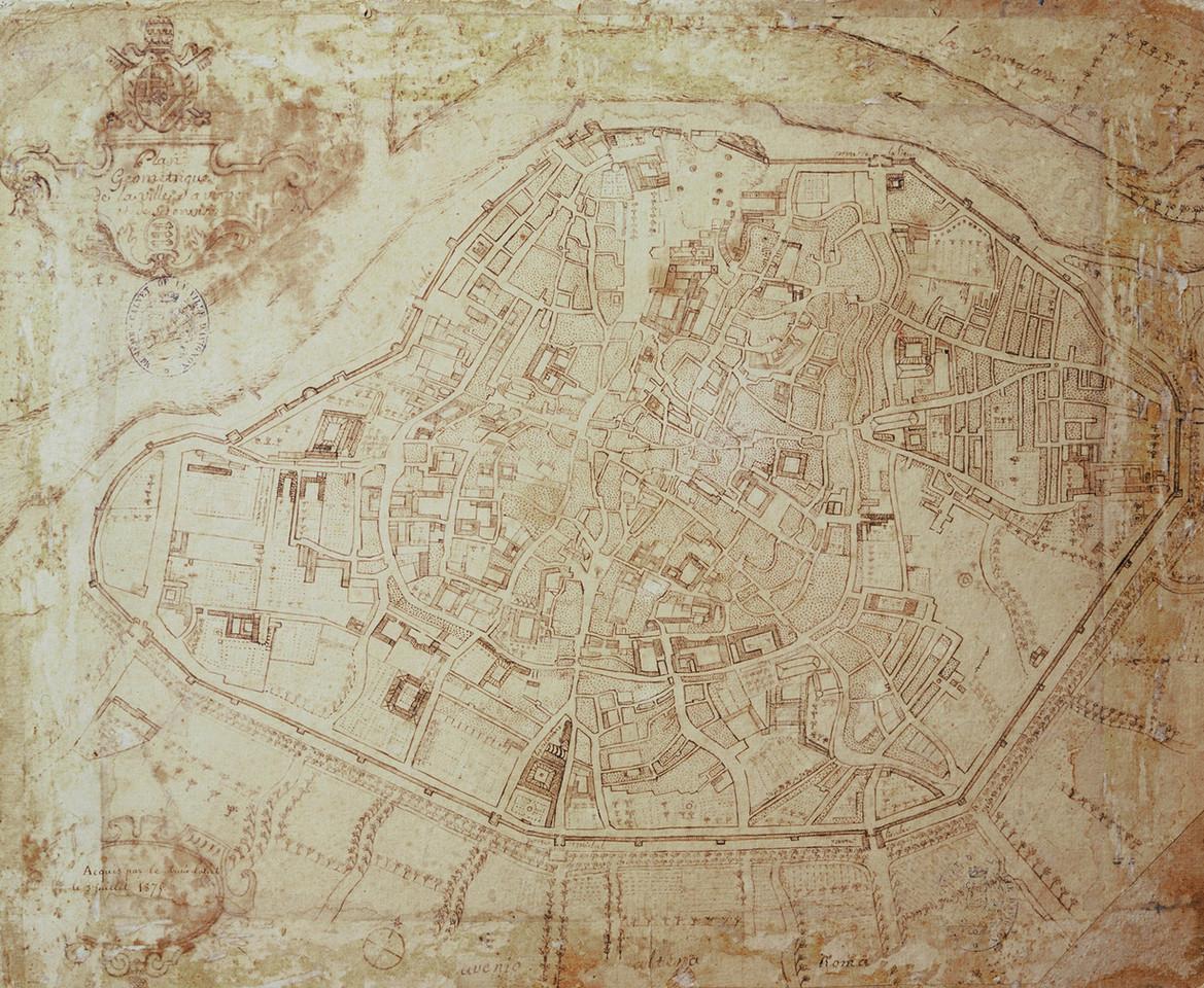 1760 – Avignon et ses environs