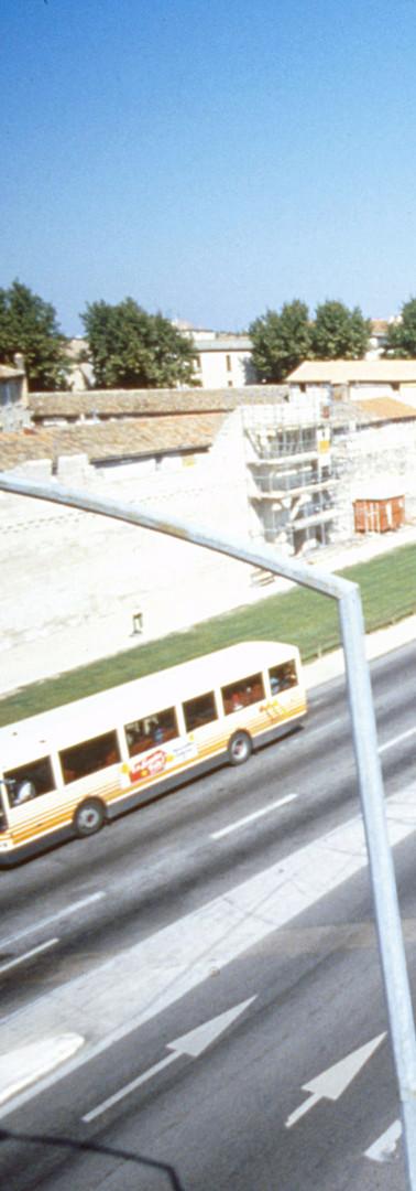 Le boulevard Limbert à la hauteur du chantier du nouveau palais de justice
