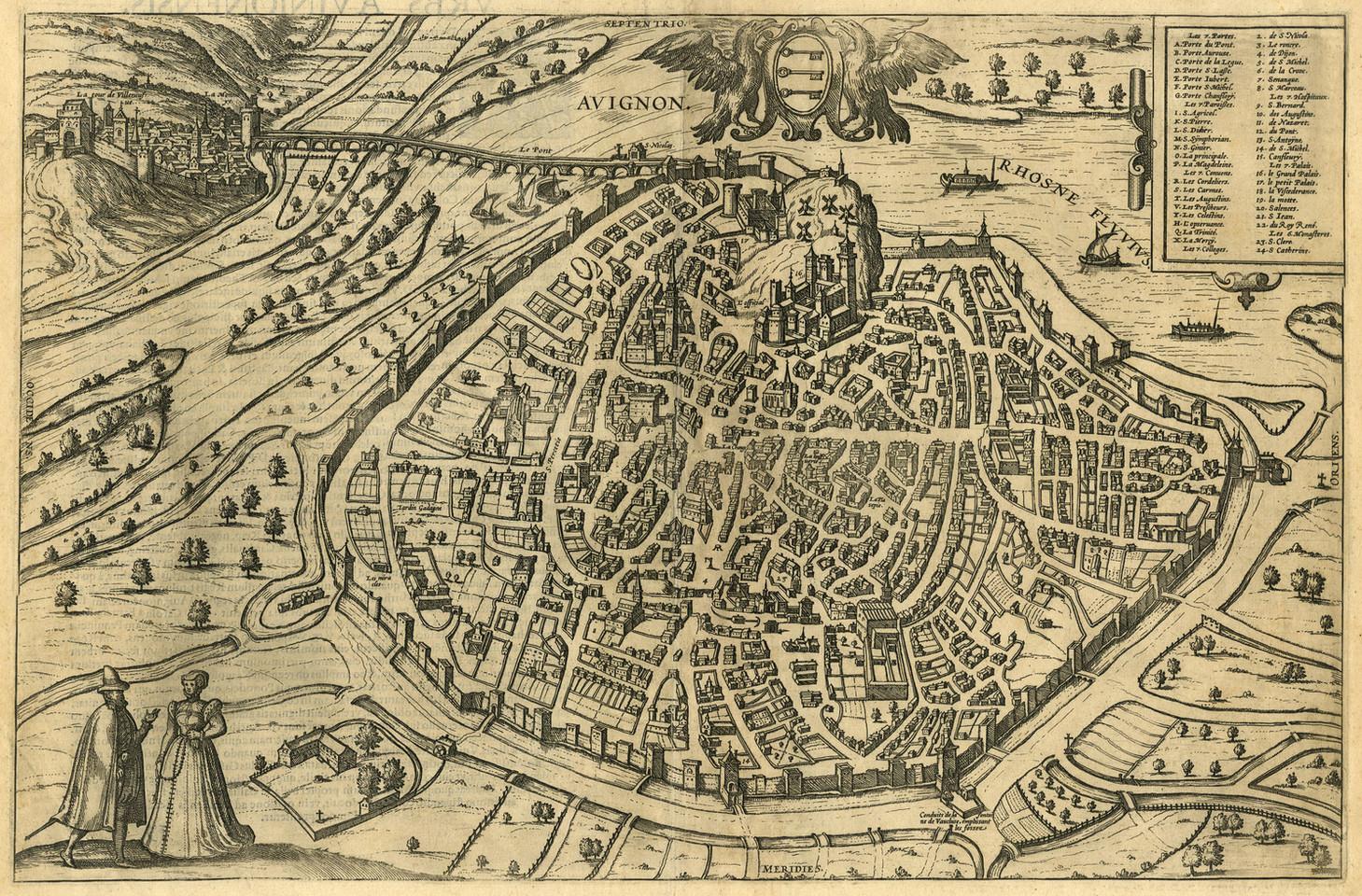 """1572 - Plan dit """"aux personnages"""""""