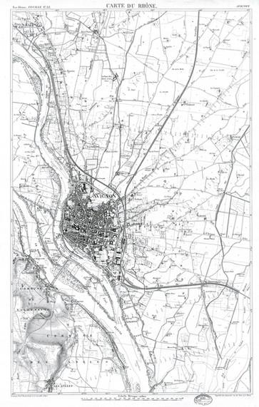 1866 – Carte du Rhône