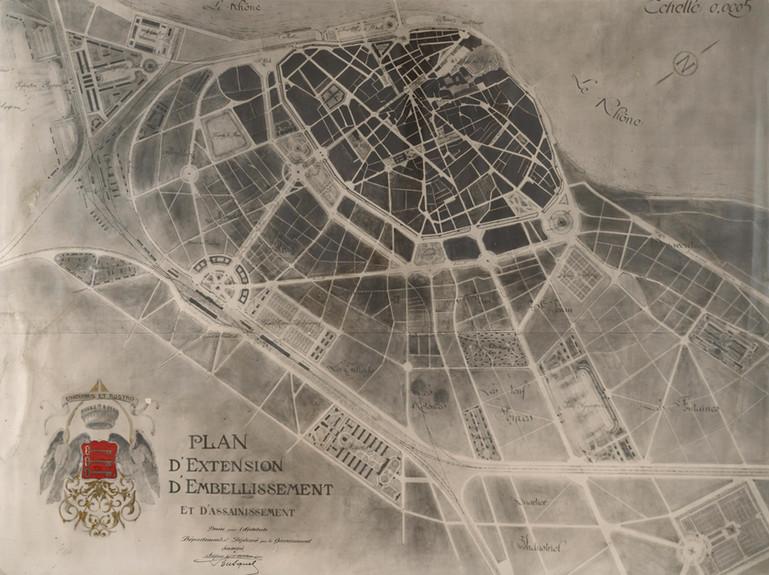 1921 – Plan d'embellissement