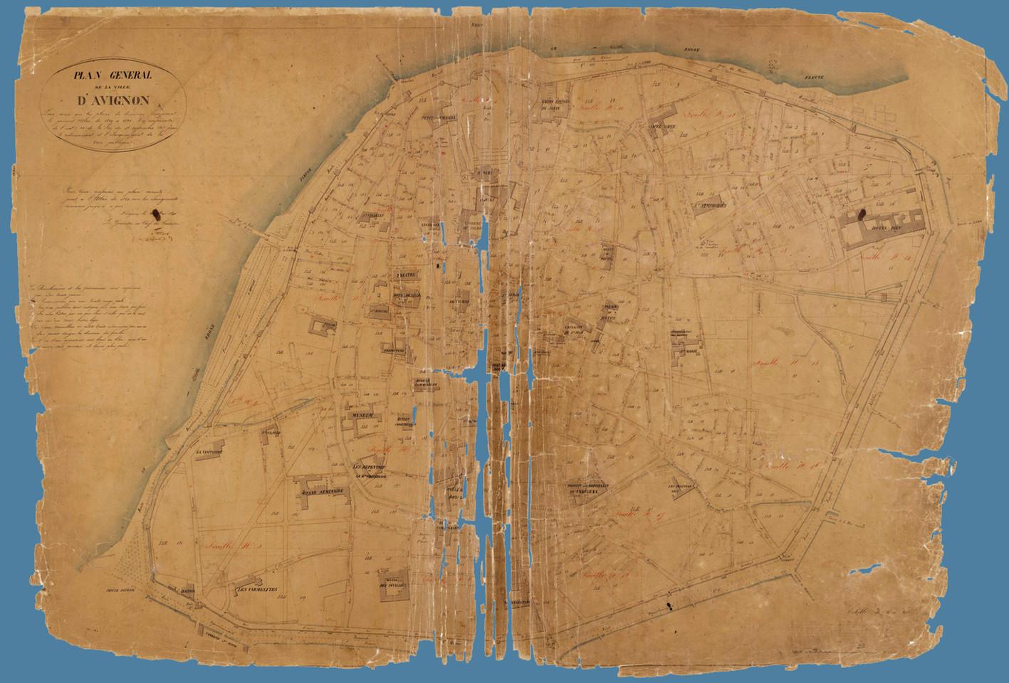 1840 – Plan général d'alignement