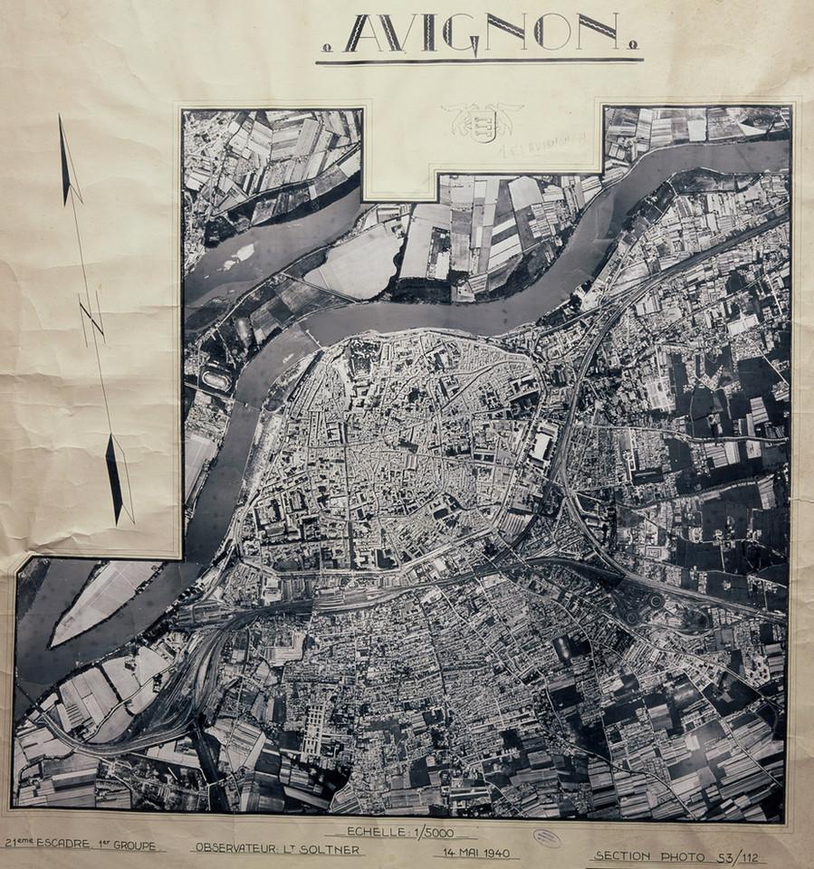 1940 – Photographie aérienne