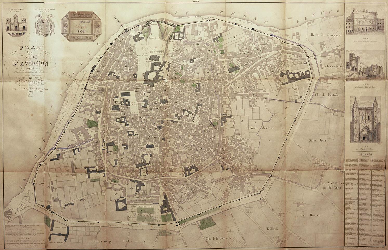1836 – Plan de la ville dit Rakowski