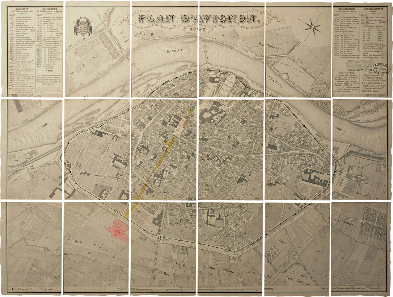1852 – Projet de la gare et de la percée Bonaparte