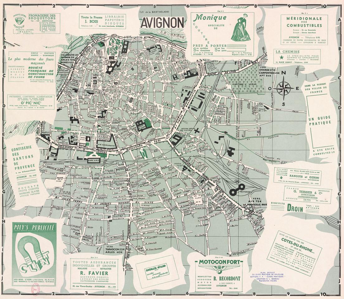1957 – Plan publicitaire