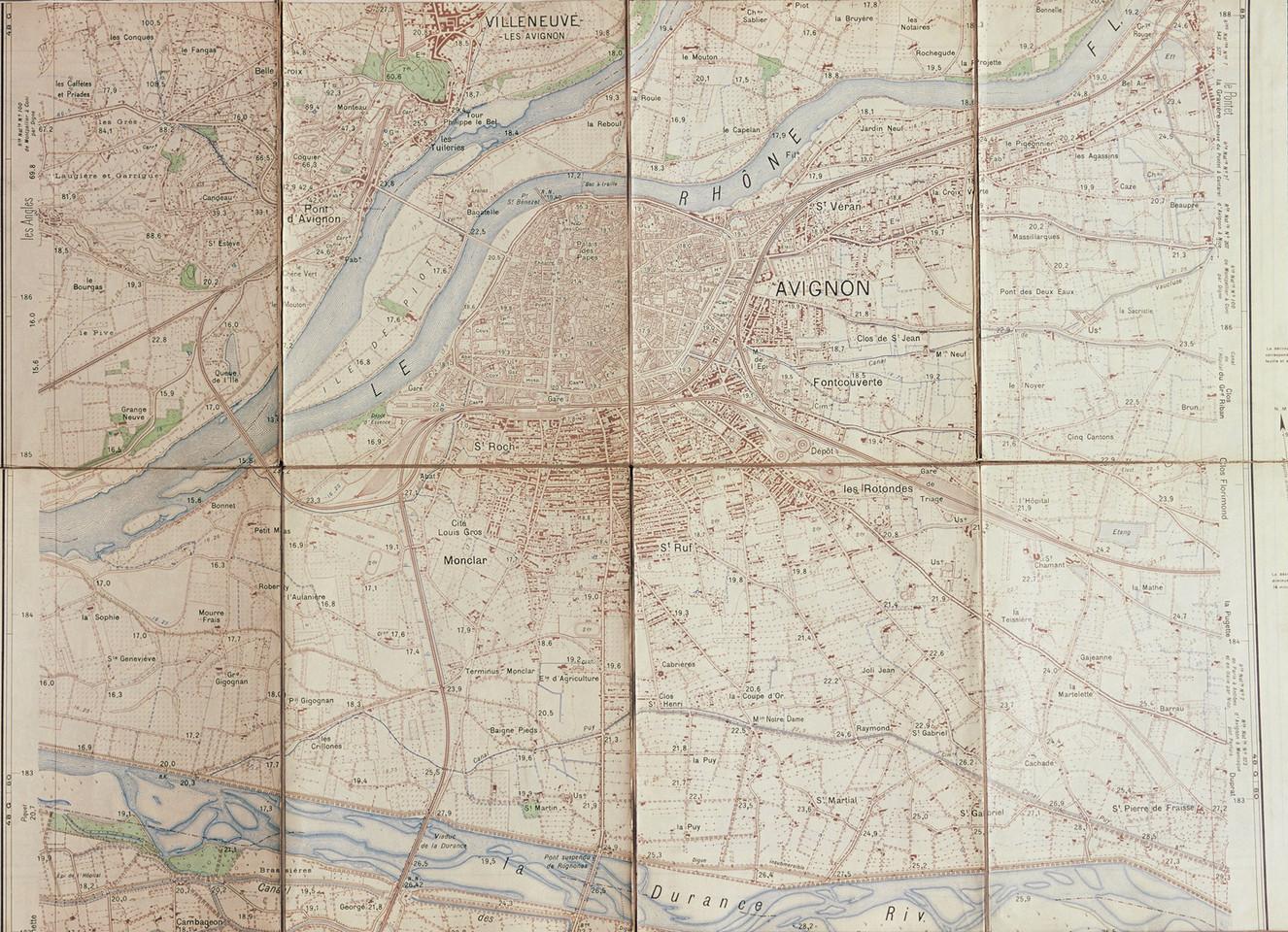 1950 – Avignon et son territoire