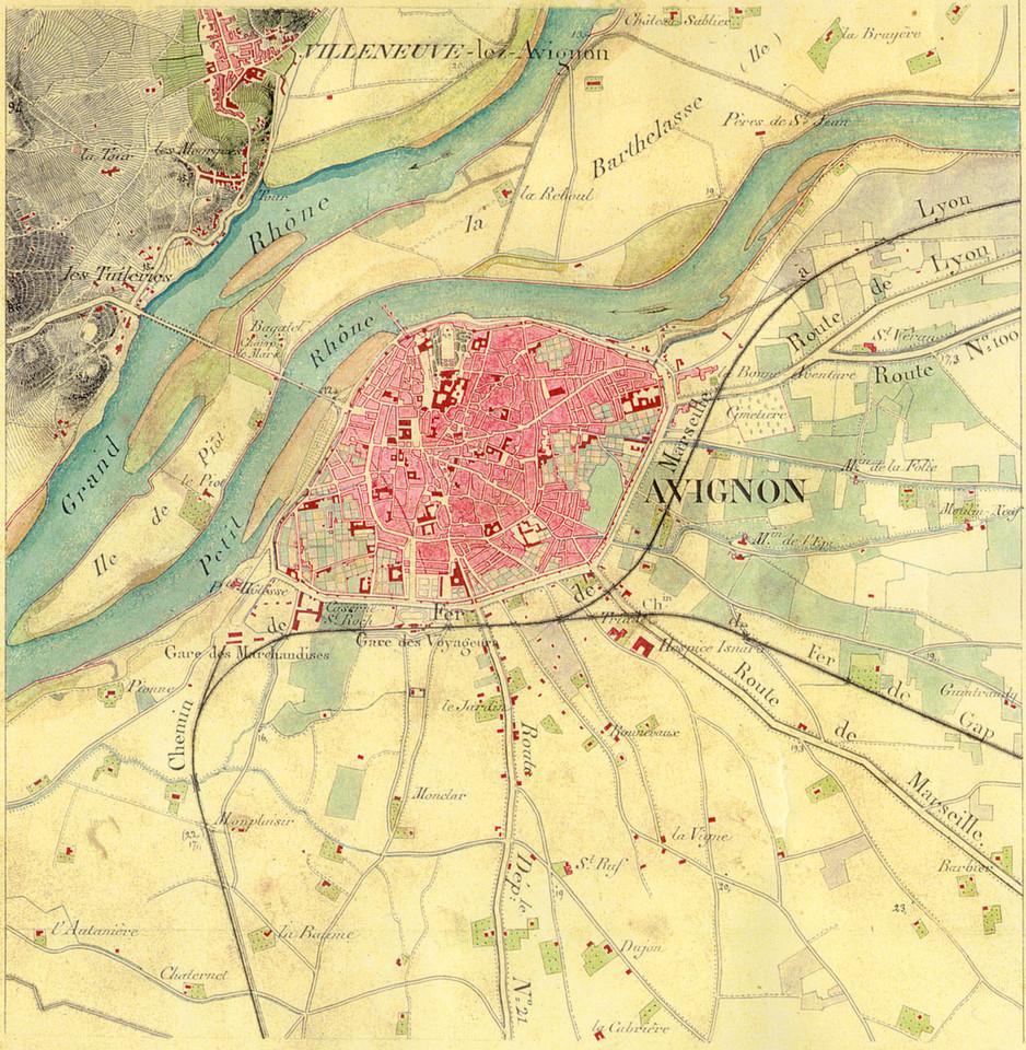 1858 – 1859 – Avignon et sa banlieue