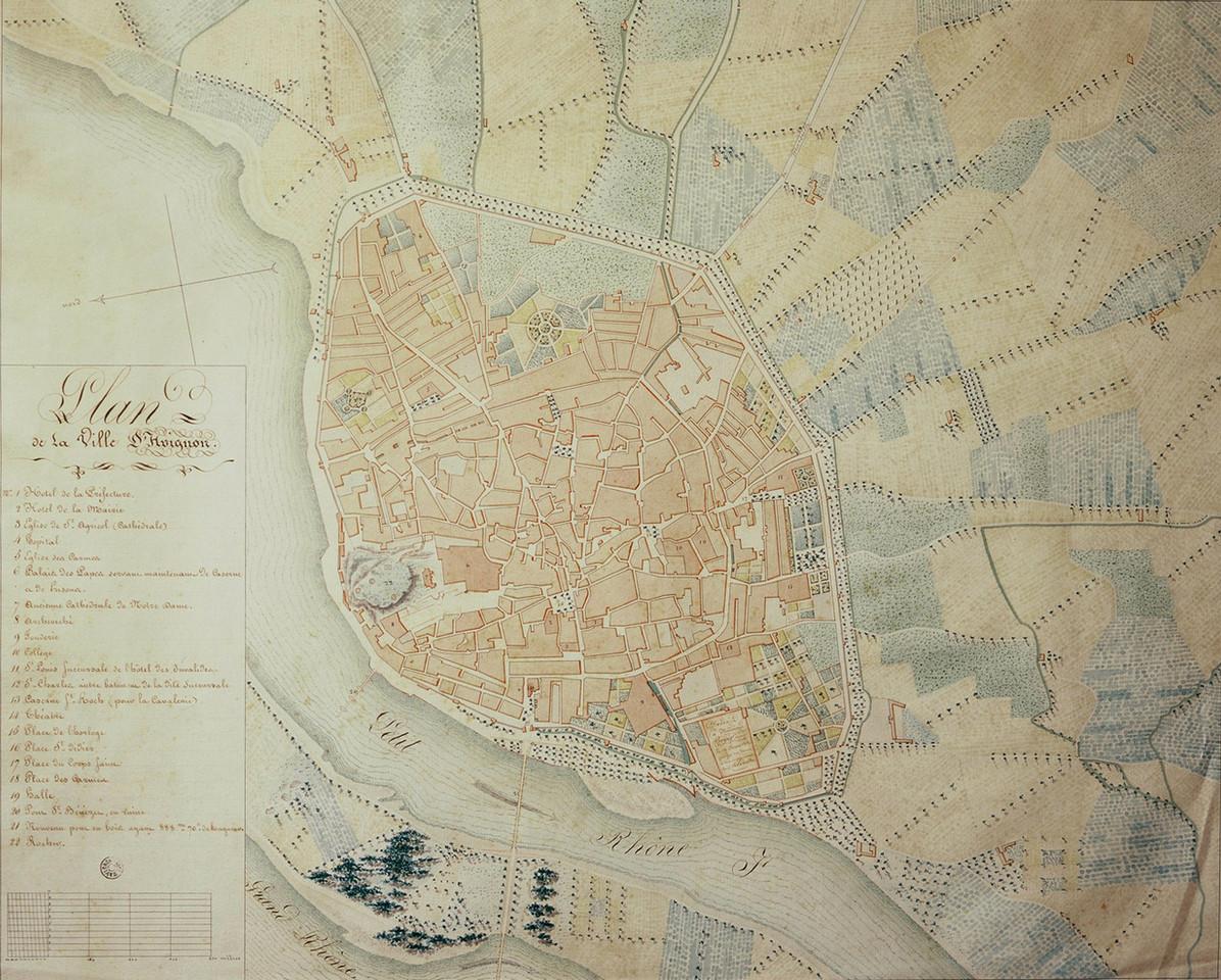 1818 – Avignon et sa banlieue