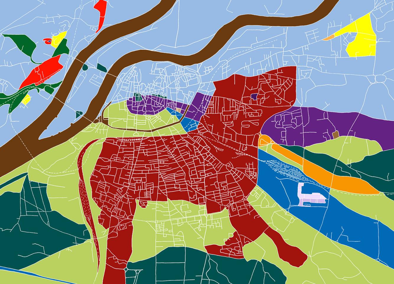 2011 – Un drôle de plan : Le chien. Œuvre numérique d'Olivier Huet