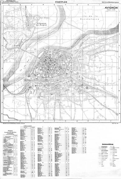 1943 – Stadtplan