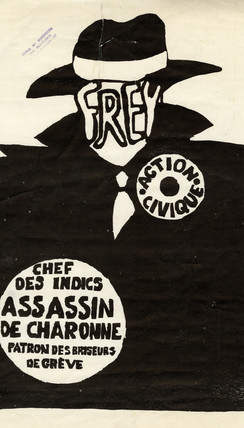 Affiches sérigraphiées de l'Atelier populaire de l'ex-École des Beaux-arts de Paris (atelier Brianchon).